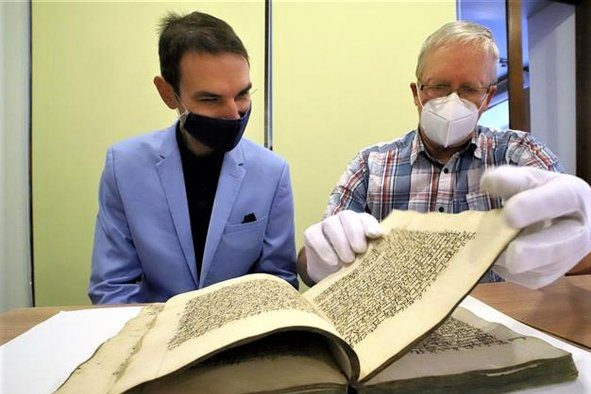 Návrat ztracené kroniky z roku 1743 do Chebu